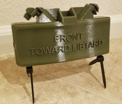 Replica Claymore Mine (M18A1) - Your Custom Text - Military Green
