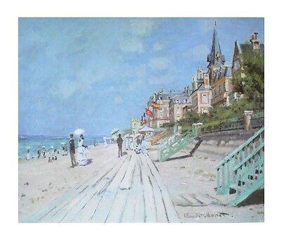 Claude Monet Promenade Poster Kunstdruck Bild 59,4x69,5cm
