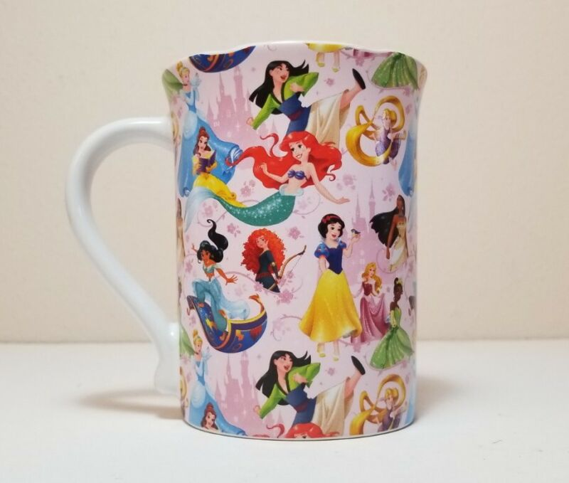 """Disney Parks Princess Mug / Cup """"Live Your Dreams - Destined For Greatness"""" NEW"""