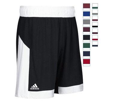 """adidas Men's Commander 15 Shooter Training Shorts Athletic 10"""" Inseam No Pockets"""