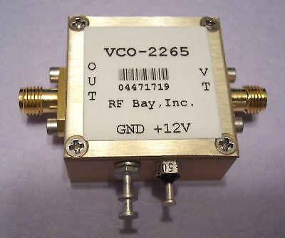 2165-2360mhz Voltage Control Oscillator Vco-2265 Sma