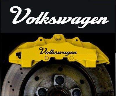 Volkswagen VW Golf GTI Compatible Vinyl Brake Caliper Decals