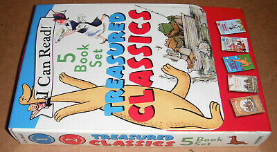 Treasured Classics: 5 Book Box Set I Can Read! Level's 1 & 2 Paperback NEW