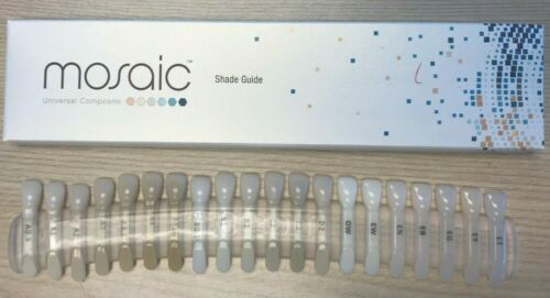 Dental Shade Guide - Mosaic by Ultradent