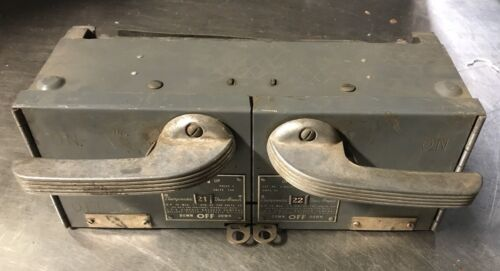 Ite V7b3222 Clampmatic Vacu-break Fusible Panelboard Switch- 60amp, 240v, 3-pole