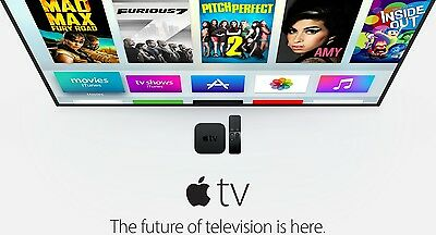 NEW! Apple TV 4th Gen Digital HD icloud Air Video Media Music Player Live Stream