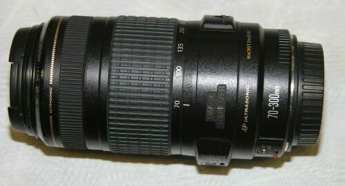 Canon 70-300mm IS Lens, 1:4-5.6 EF Ultrasonic Image Stabilizer, Japan, MINT!!