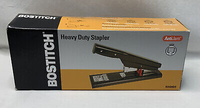 Stanley Bostitch Antijam Heavy-duty Stapler 130-sheet Capacity Black B310hds