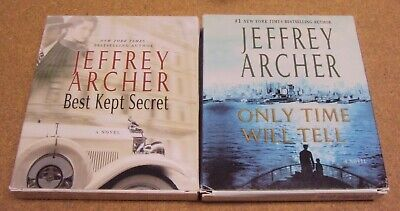 Lot 2 Jeffrey Archer Audiobook CD Best Kept Secret Only Time Will Tell
