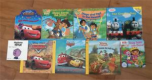 Lot de livres Disney Dora Diego Madame