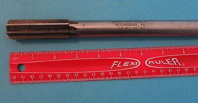Vintage Alvord Polk 8 - Flute Reamer 78 M-2 Hs Steel Usa