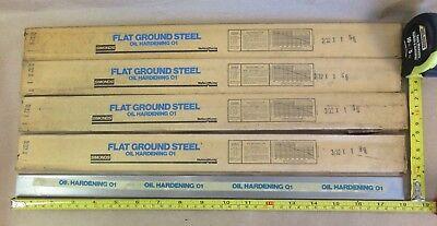 4 Pcs O1 Tool Sheet 332 X 1 X 18 Simonds Flat Ground Steel Oil Hardening