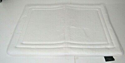 "Home Dynamix Smart Dry 24"" x 17.5"" Memory Foam  Bath Mat in White"