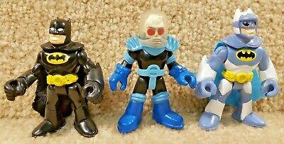 Mattel Imaginext DC Comics Snow Batman with Mr Freeze Headquarters Figure Lot