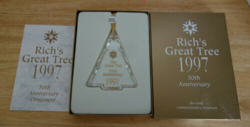 The Great Tree 1997 Christmas Ornament Rich