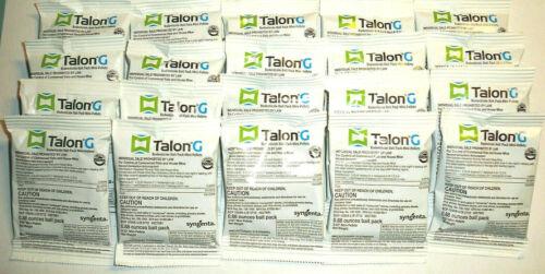 Talon G One Bite Mouse Mice Rat Rodent Bait With Bitrex 20 Pellet Packs Over 1lb