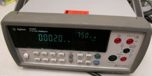 Agilent 34405A 5 1/2 Digit Multimeter with USB Interface Used
