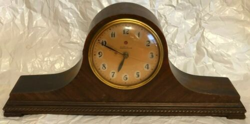 VINTAGE TELECHRON ELECTRIC MANTLE CLOCK