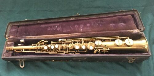 BUESCHER SOPRANO SAXOPHONE LOW PITCH S.N.133875