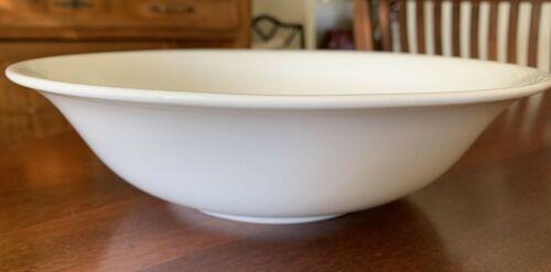 "Mikasa ""Lucerne White"" Bone China Serving Bowl 10"""