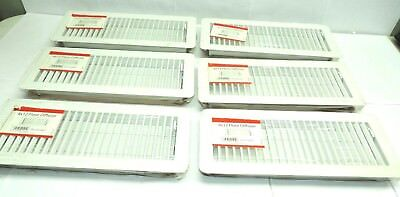 Lot Of 6 4x12 White Floor Diffuser