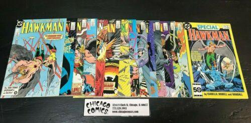 Hawkman #1-15 Missing #11 NEAR COMPLETE!! DC 1986 Series Hawkgirl VG-FN