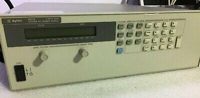 Agilent Hp Keysight 6671a 0-8v 0-220a Programmable Dc Power Supply