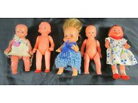 Puppe Gummi Puppenstubenzubehör Wanne für Puppenstube DDR Konvolut vintage //5