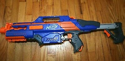 Nerf Rapidstrike CS 18 Blaster Blue Orange