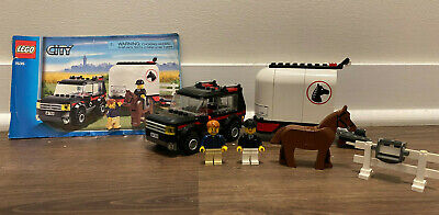 LEGO CITY 7635 4 WD with Horse Trailer with Instructions 100% Complete