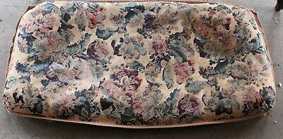 Antique Fabric for Cushion Seat for Antique Bench Settee Loveseat