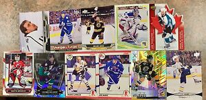 Collectible rare hockey cards