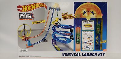 Hot Wheels Track Builder Vertical Launch Kit 50 Inches High Kids Toy Gift