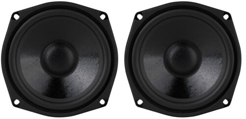 "NEW Pair (2) 5.25"" inch Super Bass Speaker Studio Series woofer 400w"