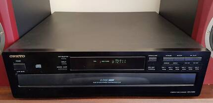 Onkyo DX-C340 6 Disc CD Carousel Changer With Remote