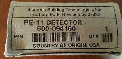 Fire Alarm Siemens Pe-11 Smoke Detector