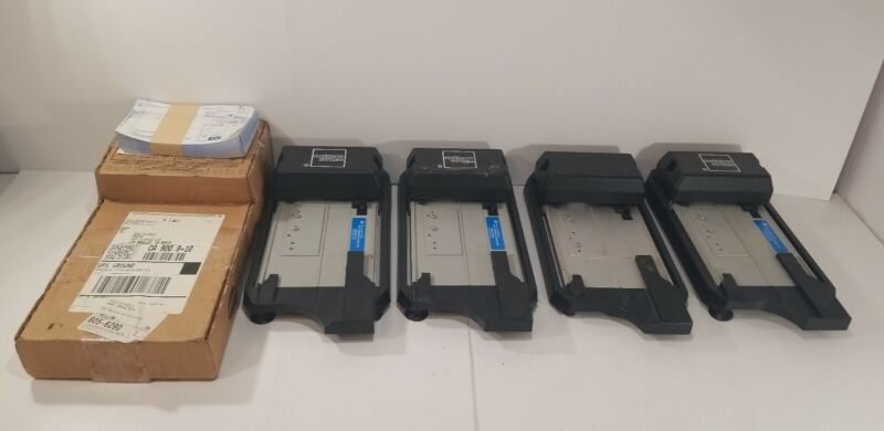 5 Flatbed 4850 Credit Card Imprinters