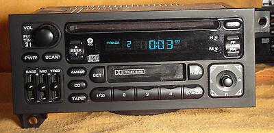 JEEP Grand Cherokee Wrangler DODGE Ram Caravan LHS Radio Stereo CD Tape Player for sale  Saint Louis