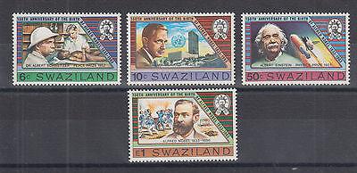 Swaziland Sc 436-439 MNH. 1983 Alfred Nobel, complete set, VF