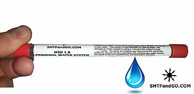 Water Filter Straw Only 6.5 inches Long Survival, Emergency, Camping SHTFandGO