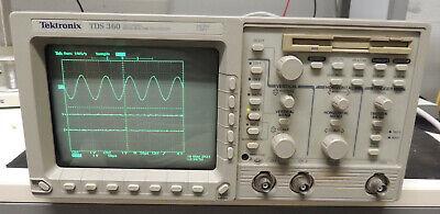 Tektronix Tds360 200mhz Portable Oscilloscope  Read