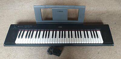 Yamaha NP-12 Piaggero Slimline Home Electronic Keyboard with 64 Note Polyphony