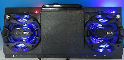GOLF CART UTV RV BOAT CAMPER ROOFMOUNT OVERHEAD STEREO RADIO DVD CD BLUETOOTH 87