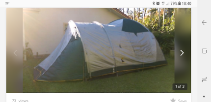 Tent 8man dome & sportiva tent | Camping u0026 Hiking | Gumtree Australia Free Local ...