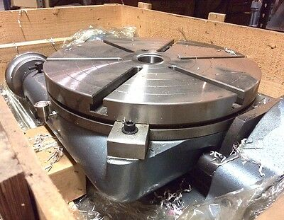 New Yuasa 550-220 20 Tilting Rotary Table