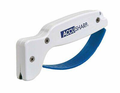 - AccuSharp Classic Regular Knife & Tool Sharpener, White/Blue #001C