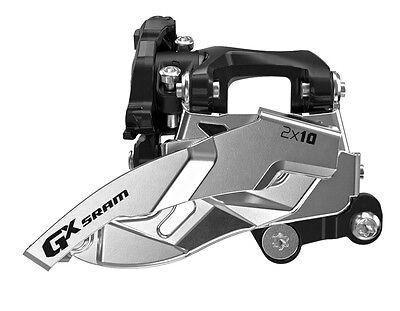 SRAM GX 2x10 Spd Low Direct Mount 36T Dual Pull Front Derailleur Fit X0 X9 X7 ()
