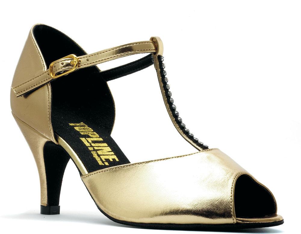 Damen Schwarz Soziale Gesellschaftstanz Schuhe 3.8cm 5.1cm Or 6.3cm Absatz