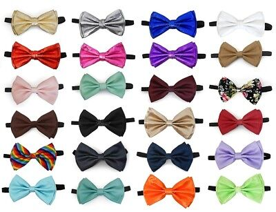Bow Tie Metallic Bow Ties Canvas Bowtie Blush Pink Bowties (24 - Cheap Bow Ties