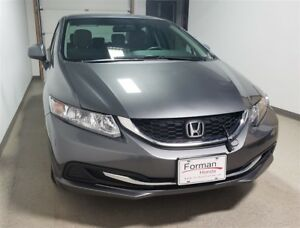 2013 Honda Civic LX |Certified|Htd Seats|Btooth | 56MPG | New ti